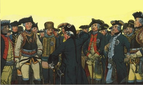 File:Prussian generals on the evening before Leuthen.jpg
