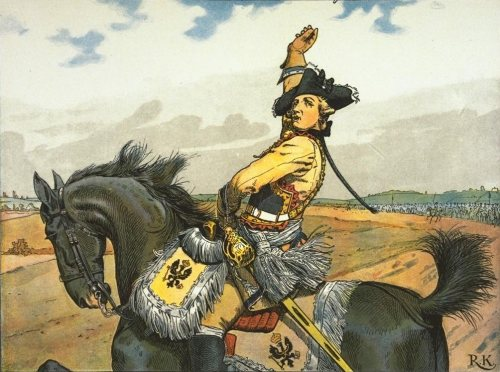 File:Seydlitz at the battle of Rossbach.jpg