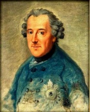 Frederick II of Prussia in 1763 - Source: Wikimedia Commons