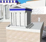 Reconstruction of the Temple of Athena Nike by Kronoskaf - Snapshot of the real time rendering of the prototype